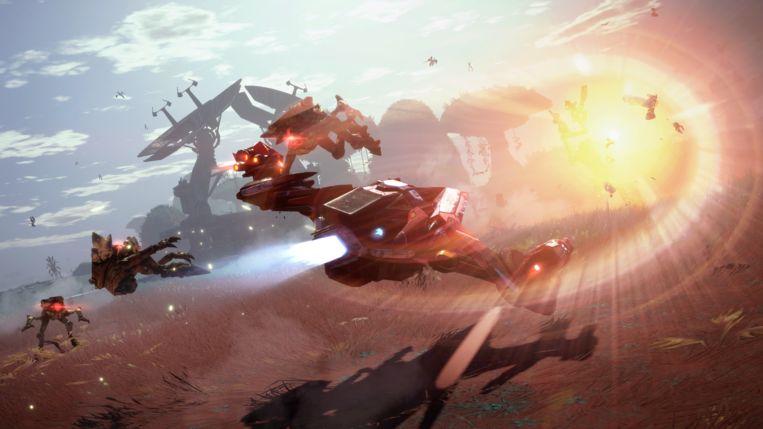 'Starlink: The Battle of Atlas' doet monden openvallen van verbazing. Beeld Ubisoft
