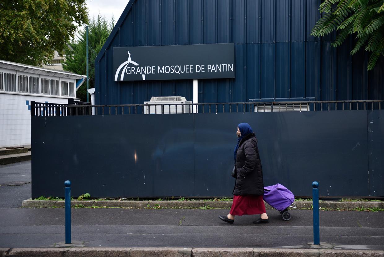 La Grande Mosquée de Pantin in de gelijknamige Parijse voorstad. De moskee is door de regering zes maanden gesloten vanwege haatzaaien.