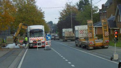 Verkeershinder door aanleg bushalte