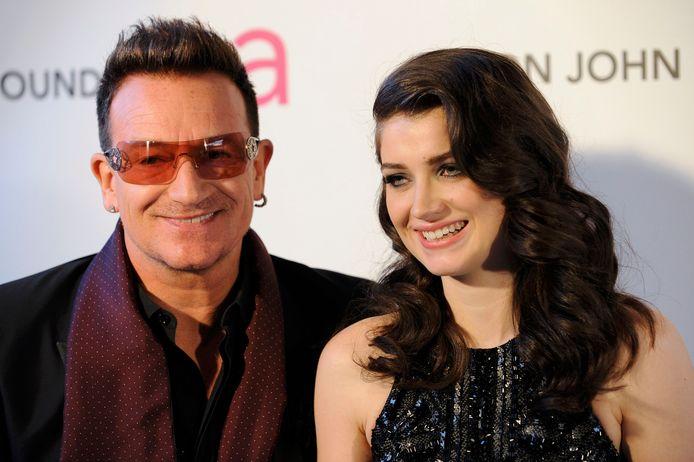 Bono en dochter Eve Hewson.
