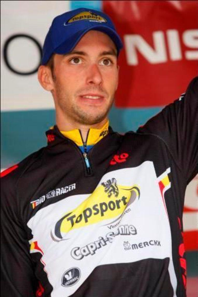 Kenny Dehaes won in de Ronde van België nog een rit. Beeld UNKNOWN