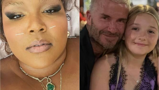 CELEBS 24/7. Lizzo heeft iets met naalden en dochter van David Beckham is 'all grown up'