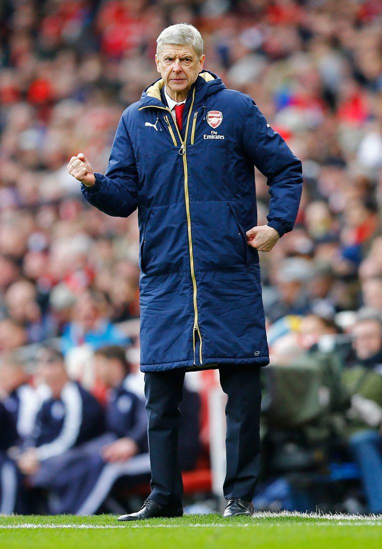 Arsène Wenger. Beeld Photo News