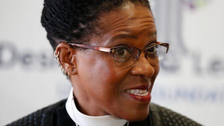 Ds. Mpho Tutu-van Furth zal de overdenking verzorgen tidjens de Roze viering in de Keizersgrachtkerk. Beeld anp
