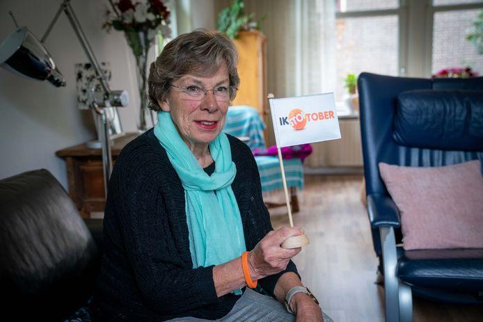 Ineke Garssen stopt met roken.