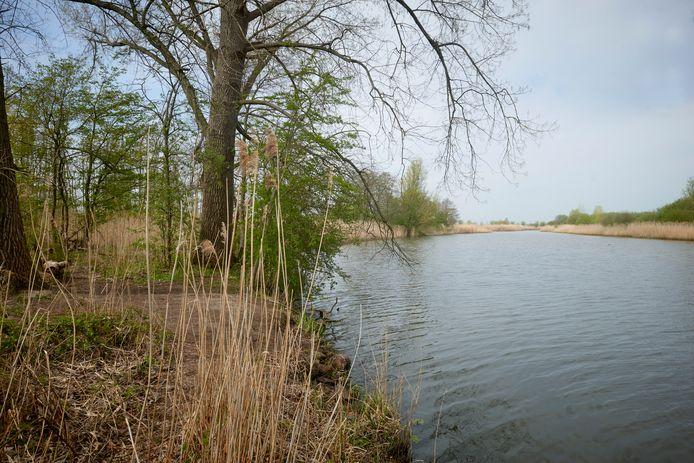 Natuurgebied het Ossermeer in Oss. De gemeente gaat openstellingsborden plaatsen om de vele bezoekers te wijzen op de spelregels.