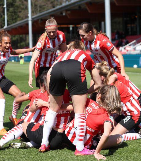 PSV Vrouwen mag zich opmaken voor vierde bekerfinale na 1-0 zege op Ajax