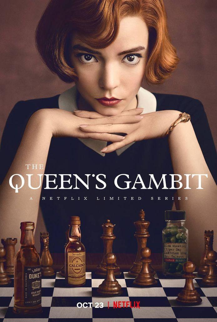 The Queen's Gambit is een kijkcijferhit.