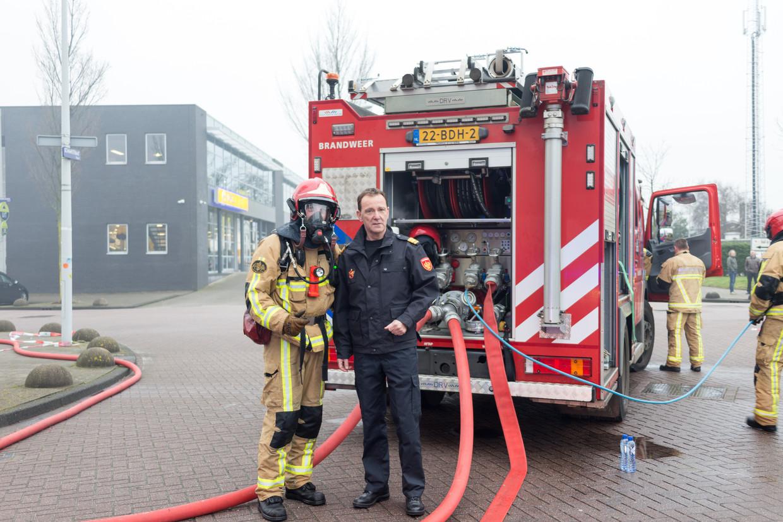 Leen Schaap werd door Van der Laan aangesteld om de cultuur bij de brandweer te veranderen. Beeld Hollandse Hoogte / Novum RegioFoto