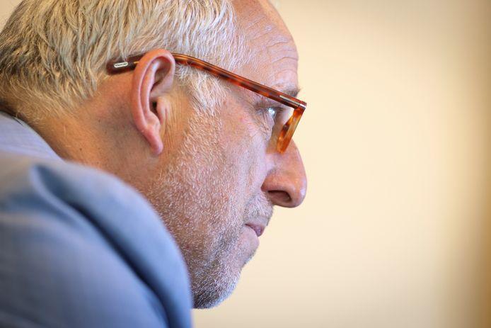 Gerard Renkema, de burgemeester van Nijkerk