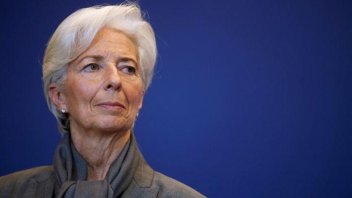 IMF-voorzitter Christine Lagarde
