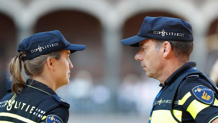 Extra politie tijdens Prinsjesdag Beeld ANP