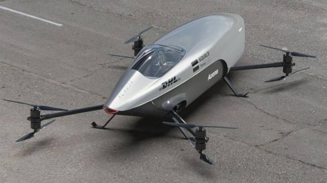Is deze vliegende auto de toekomst?