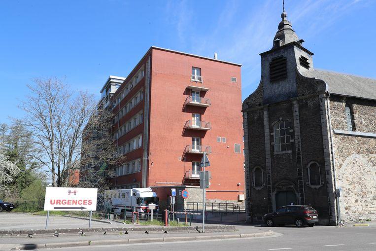 Het regionale ziekenhuis van Hoei. Beeld Photo News