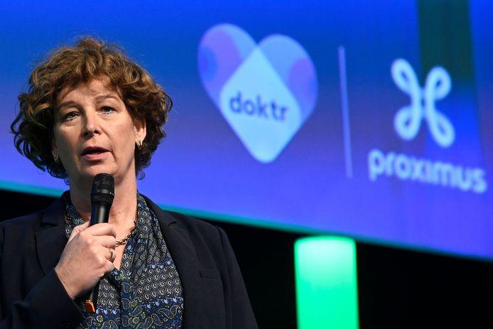 Petra De Sutter, ministre des Entreprises publiques.