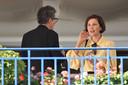 Maggie Gyllenhaal et Kleber Mendonca Filho, tous les deux dans le jury.