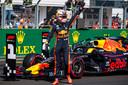 Max Verstappen pakt zijn eerste pole position ooit.