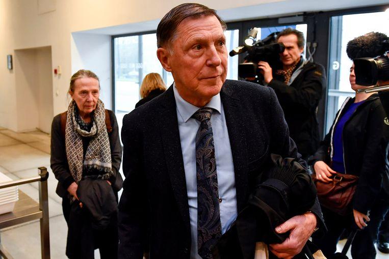 Advocaat Jef Vermassen in de Gentse rechtbank. Beeld BELGA