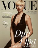Dua Lipa op de cover van Vogue