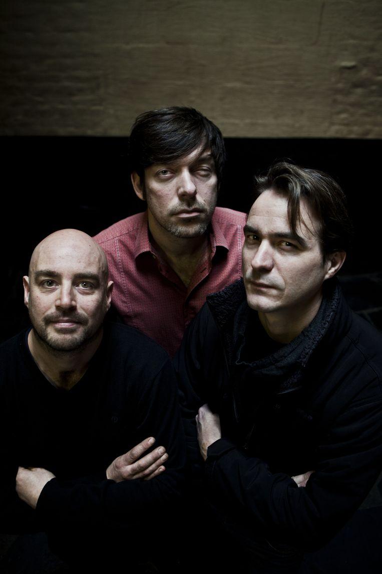 De drie huidige eigenaars, vlnr: Mario Vuylsteke, Gerald Claes en Nik Vandenberghe Beeld Tom Verbruggen