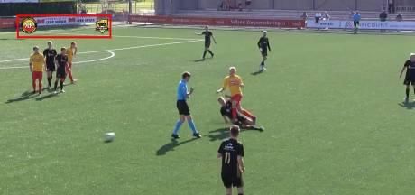 #HéScheids: Even geen anderhalve meter in Zieuwent, harde tackle bij FC Winterswijk