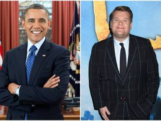 Barack Obama verschijnt in talkshow James Corden