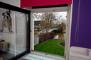Vanuit de woning is de Pinkeveerse brug goed te zien.