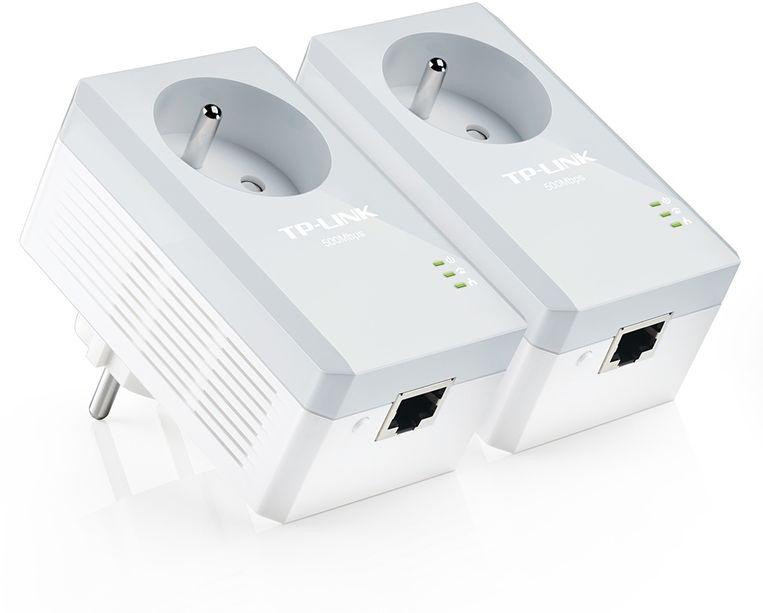 Een afgeprijsde starterkit voor powerline-internet.