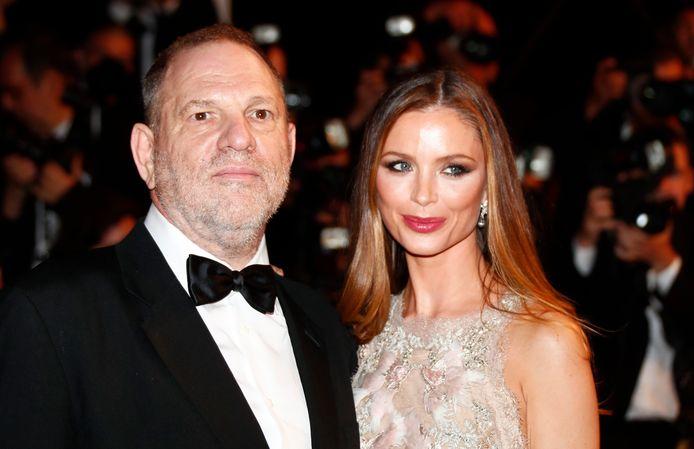 Harvey Weinstein en zijn vrouw Georgina Chapman.