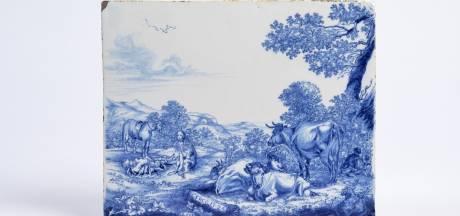 Prinsenhof krijgt zeldzame Delfts blauwe 'plaque'