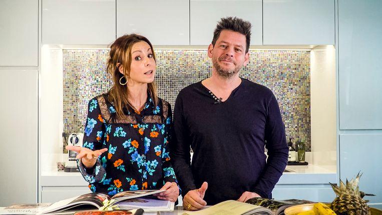 Bieke Ilegems en partner Erik Goossens