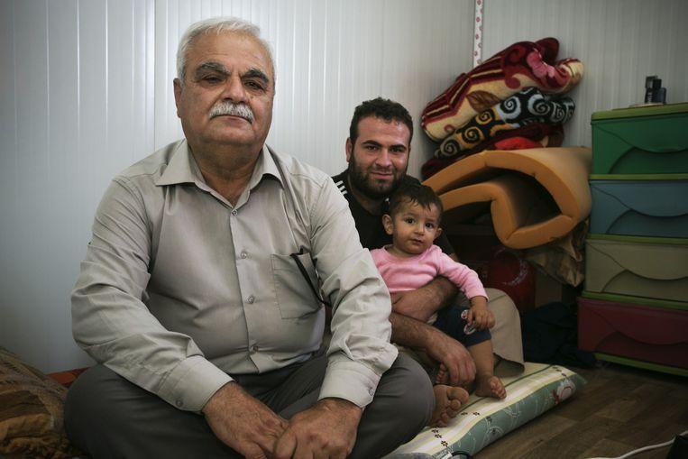 Mehd, een voormalige generaal in het leger van Saddam. Beeld Tim Dirven