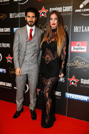 Refaelov en vrouw Gal op de Gouden Schoen 2015. Het Gala vond toen nog plaats in de AED studio's in Lint.