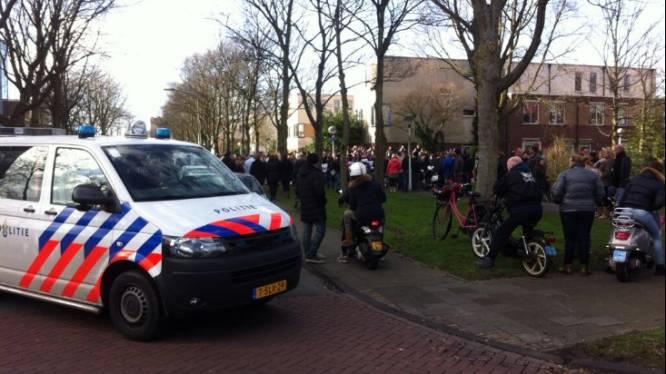Protest tegen komst van veroordeelde pedofiel in Leiden