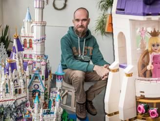 LEGO sprookjeskasteel van Giovanni krijgt plaatsje in Hermitage-museum in Amsterdam