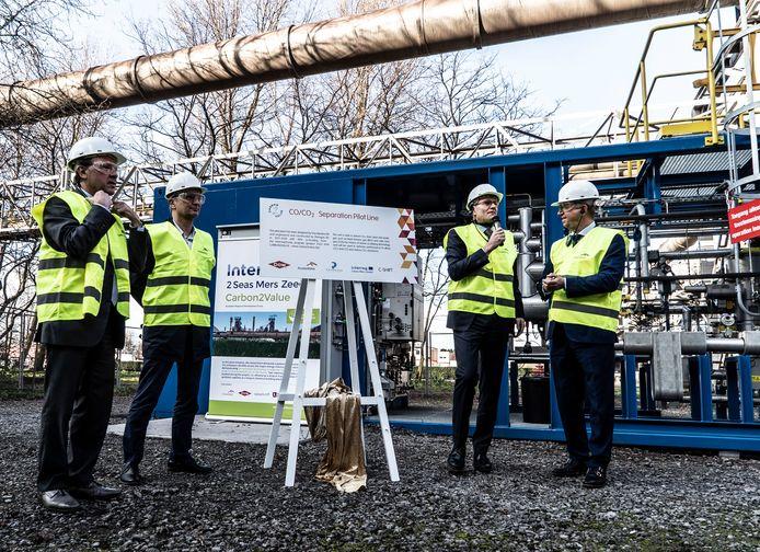 ArcelorMittal is gestart met het scheiden van zijn CO en CO2-uitstoot.