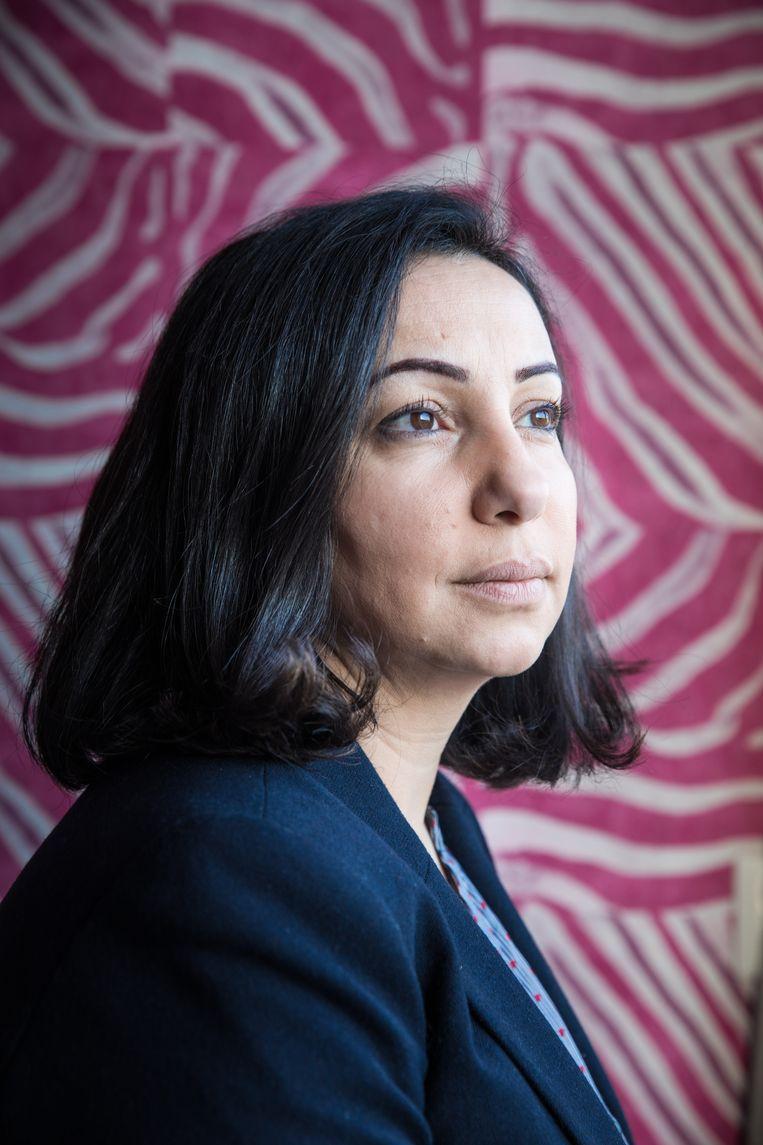 Araa al Jaramani vluchtte in 2013 vanuit Syrië naar Nederland en is sinds een aantal jaren verbonden als onderzoeker aan de Vrije Universiteit van Brussel.  Ze schat dat meer dan 50 procent van de Syrische stellen in Nederland overweegt om te scheiden of in scheiding ligt. Beeld null