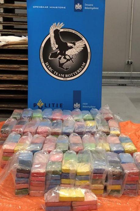 Honderden kilo's cocaïne tussen de medische hulpmiddelen: straatwaarde van 31 miljoen euro