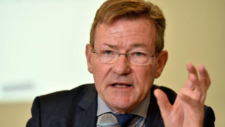 Johan Van Overtveldt, minister van Financiën. Beeld Photo News
