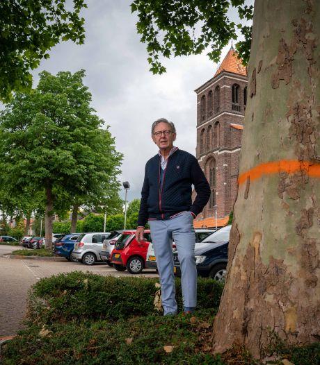 Jaap wil kaalslag op Huissen-Zand tegenhouden: 'Je kunt toch niet zomaar bomen omhakken'