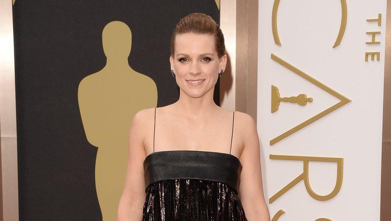 Veerle Baetens bij de uitreiking van de Oscars in februari. Beeld AFP