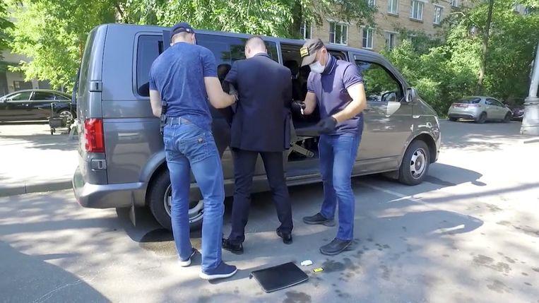 Arrestatie Ivan Safronov Beeld via REUTERS