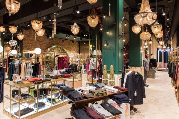 Ted Baker winkel in Antwerpen.