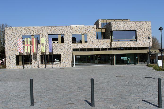 Illustratiebeeld van het gemeentehuis van Laakdal.
