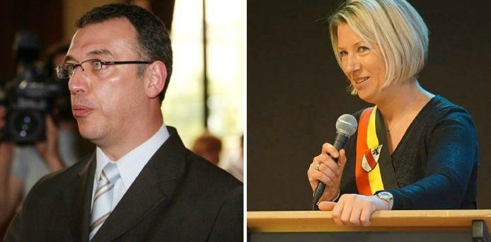 Eric Massin en Caroline Taquin.