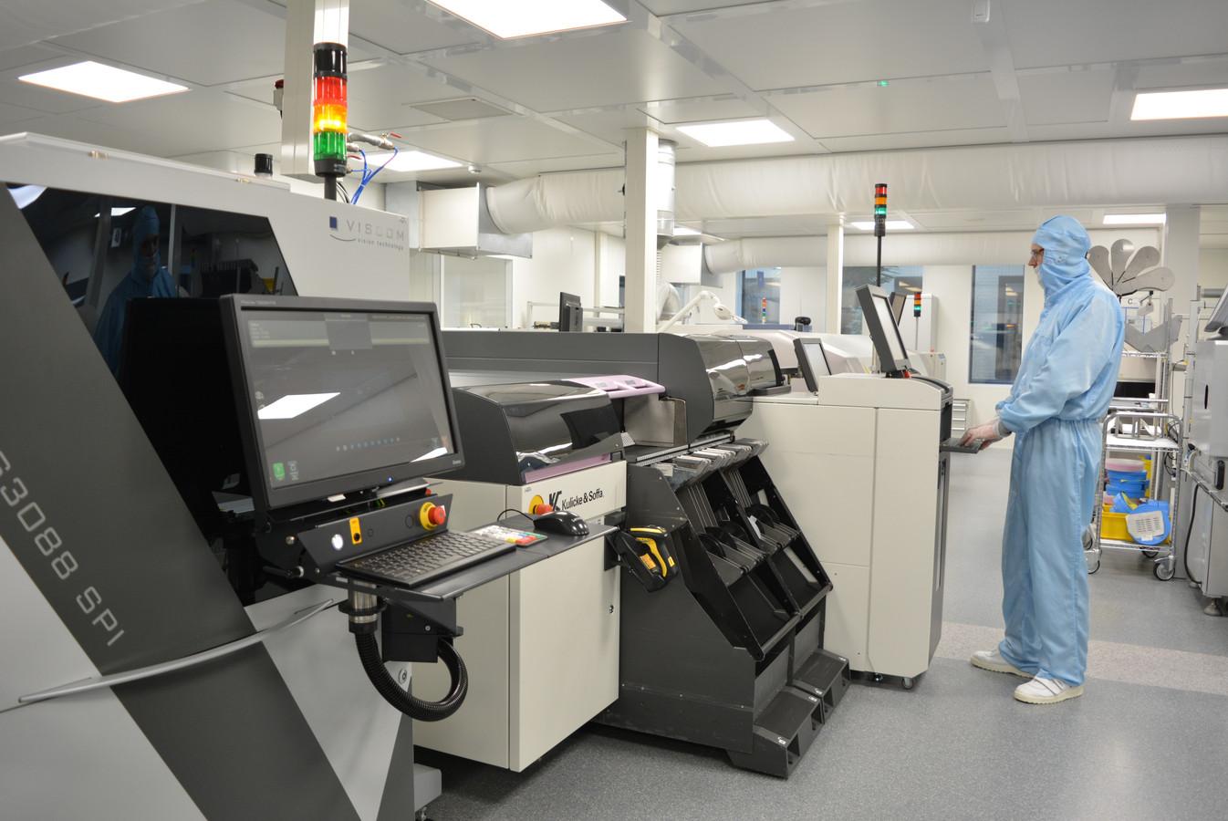 Neways investeerde eerder in een nieuwe vestiging  in Echt met een volautomatische assemblagelijn.