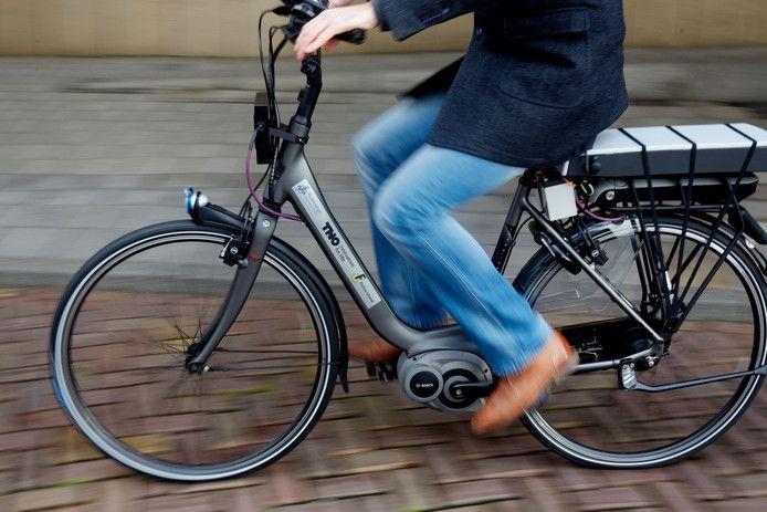 Een elektrische fiets.