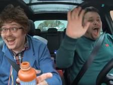 Tilburgse lookalike van James Corden zingt met Lamme Frans in carnavalsparodie Carpool Carnaoke