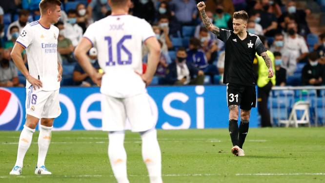 Real Madrid gaat in eigen huis onderuit tegen bescheiden Sheriff Tiraspol