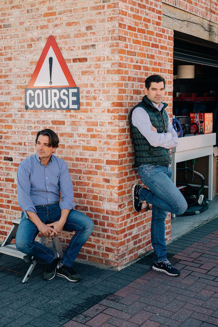 'Er is geen wrijving tussen ons en Deceuninck-Quickstep. Voor Lefeveres succesverhaal hebben we alleen maar bewondering.'  Beeld Wouter Van Vooren